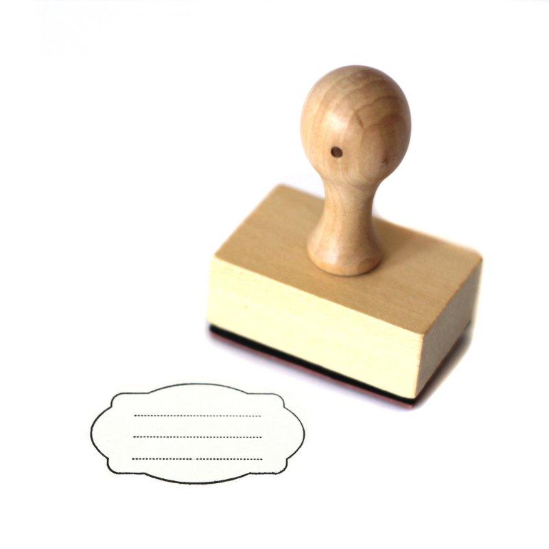 stempel etikett zum beschriften aus holz schrift motivgr. Black Bedroom Furniture Sets. Home Design Ideas